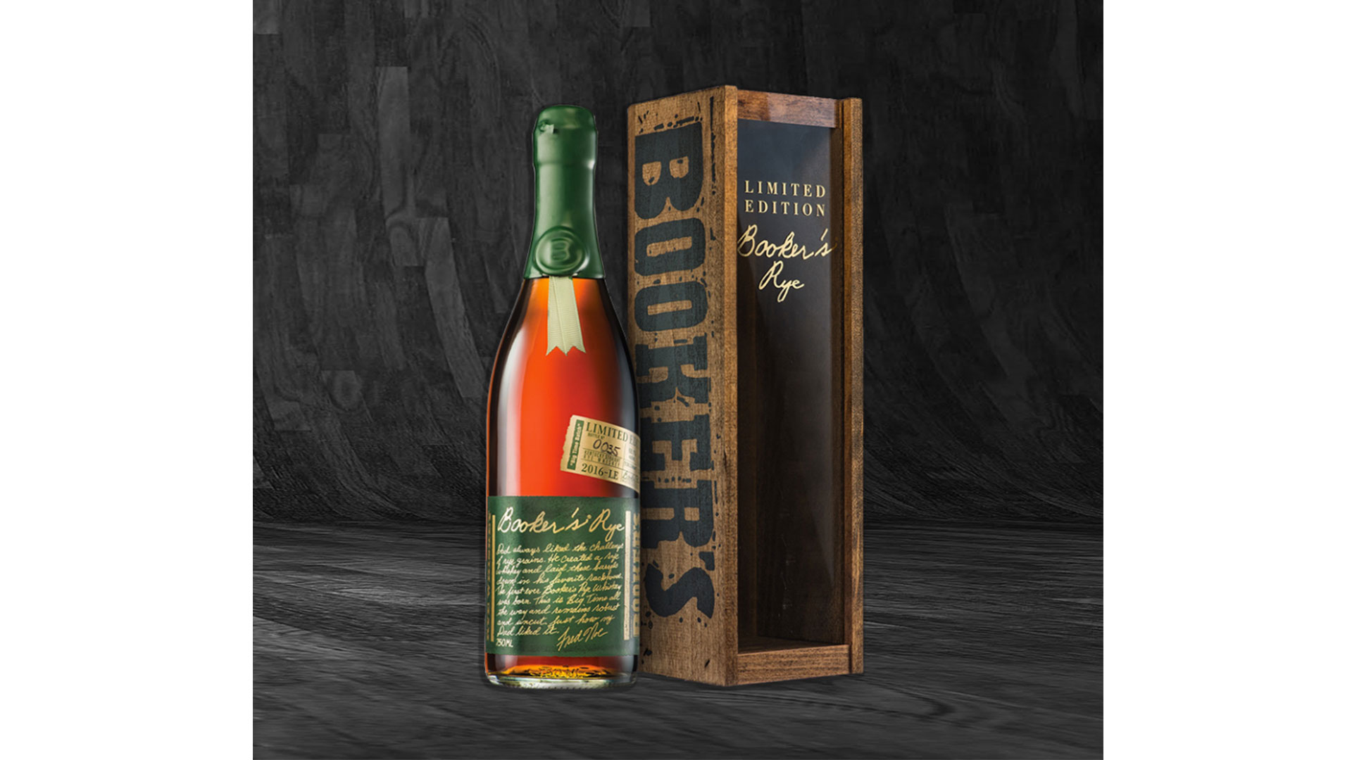 Best Investment Bourbon: Booker's Bourbon