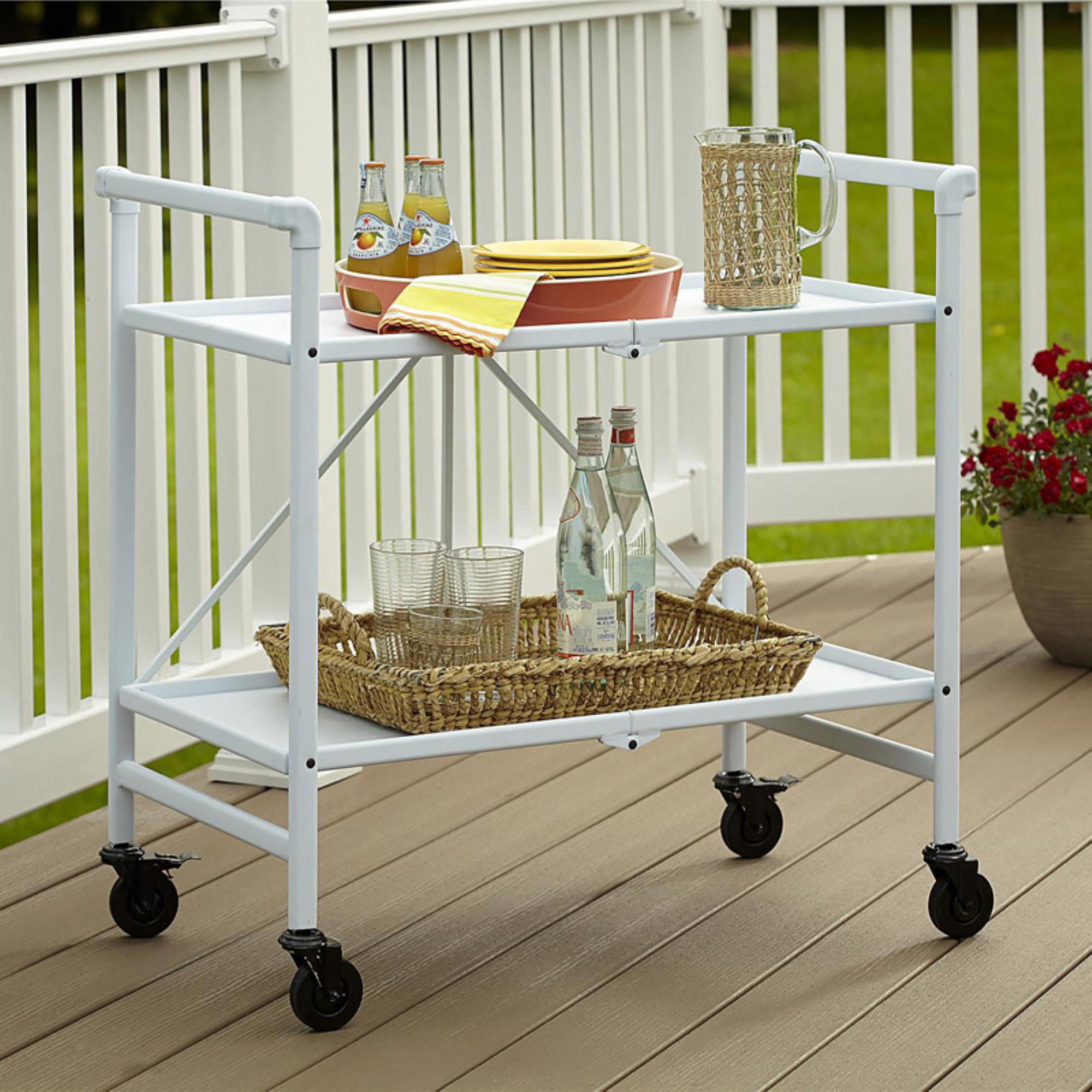 Cosco Folding Serving Cart
