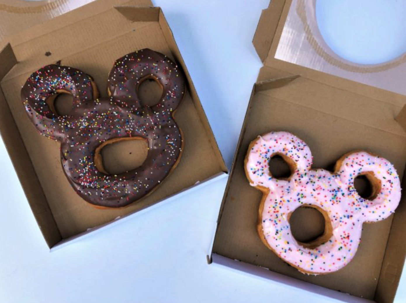 Disney's New Mickey Mouse-Shaped Doughnut Is Massive doughnut-3