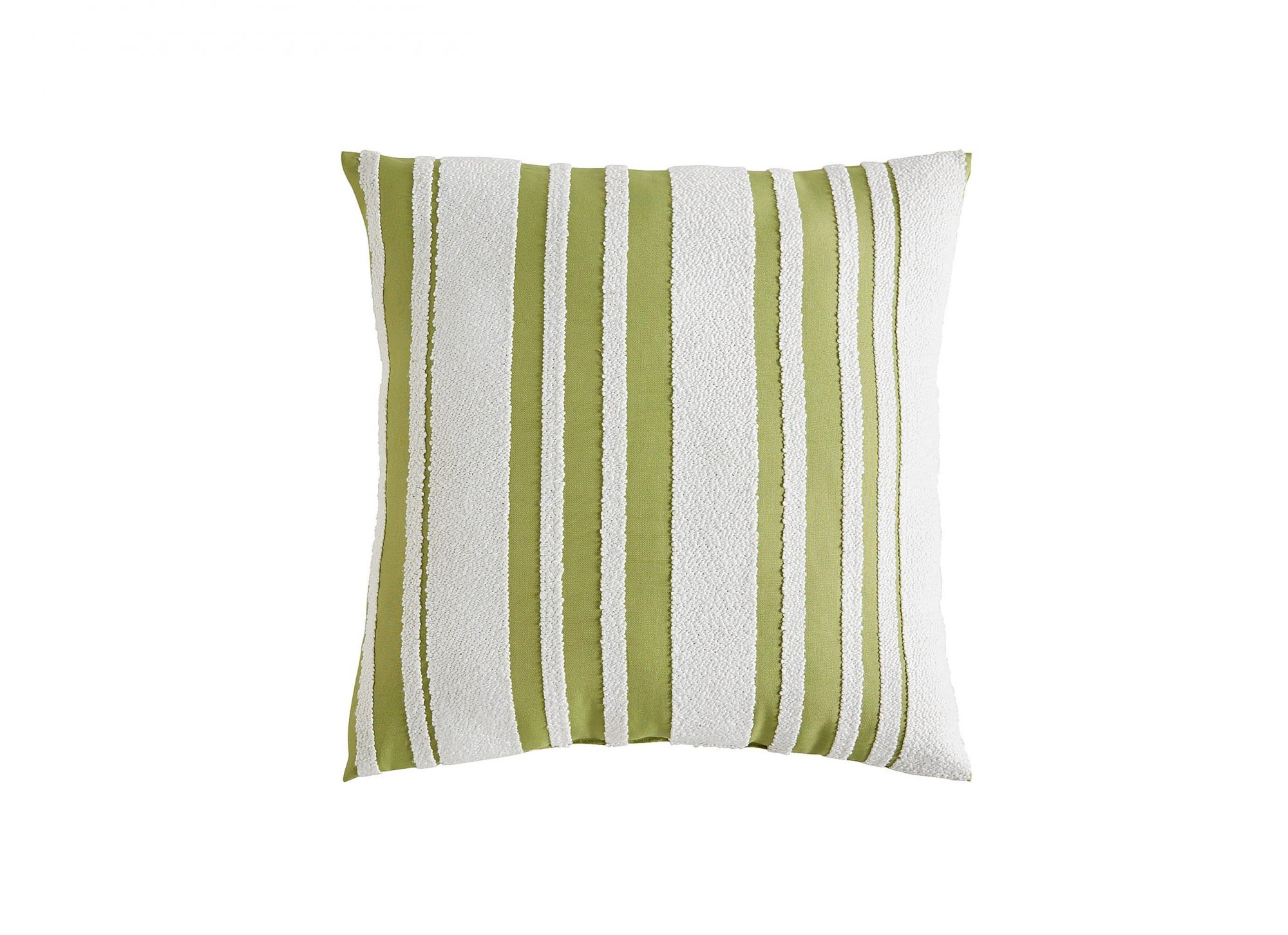 Farmhouse Fern Striped Pillow