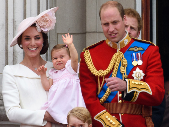 Princess Charlotte Has Mastered Big Brother Prince George's Royal Double Wave gettyimages-539411616