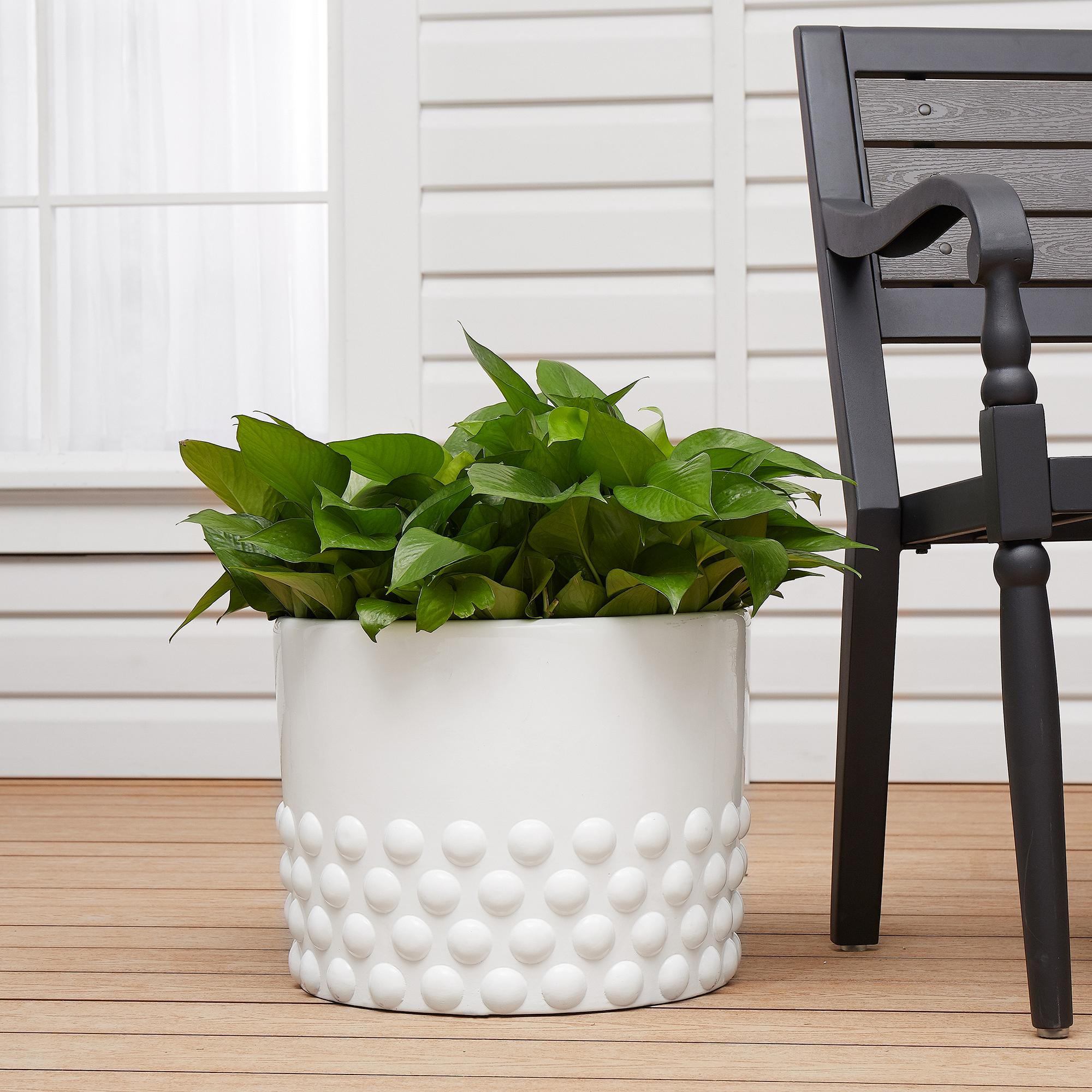 "Better Homes & Gardens 15"" La Paz Floor Planter"