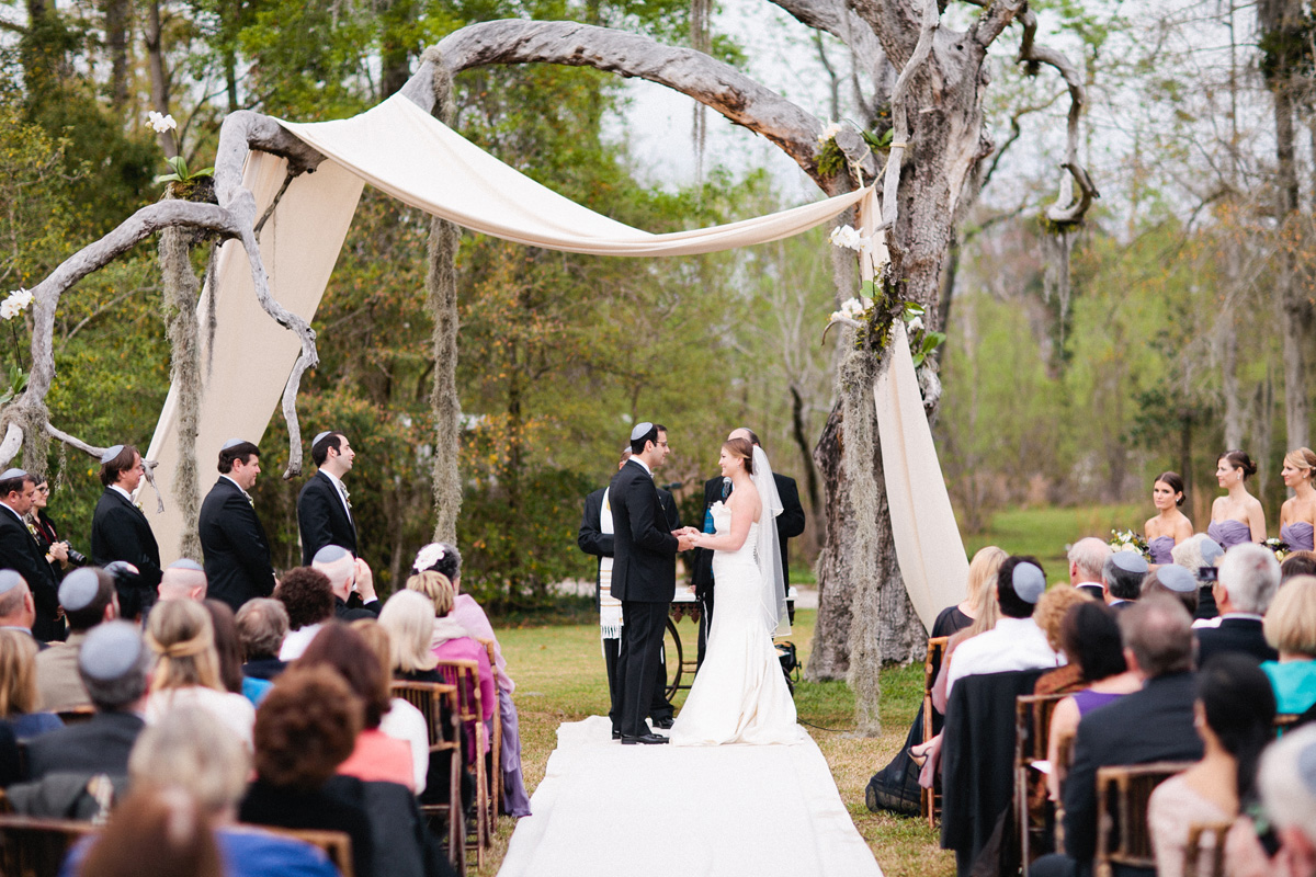Backyard Jewish Ceremony