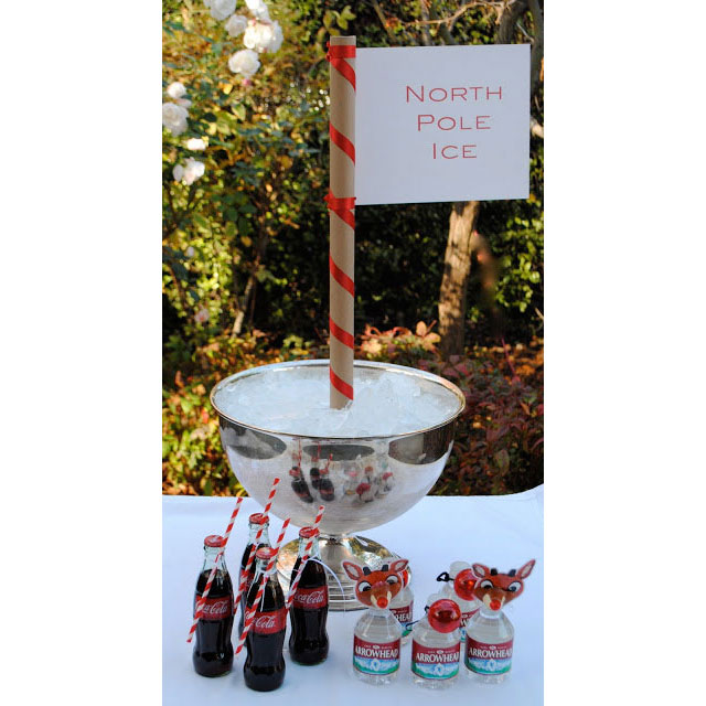 North Pole Drink Station