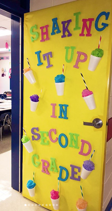 Shaking It Up in Second Grade