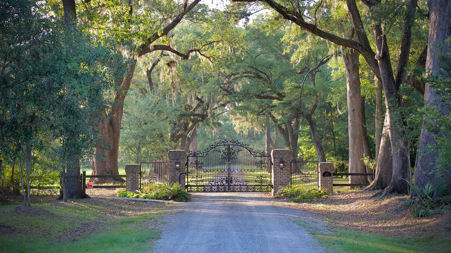 Thomas Hall Plantation Johns Island SC Gate