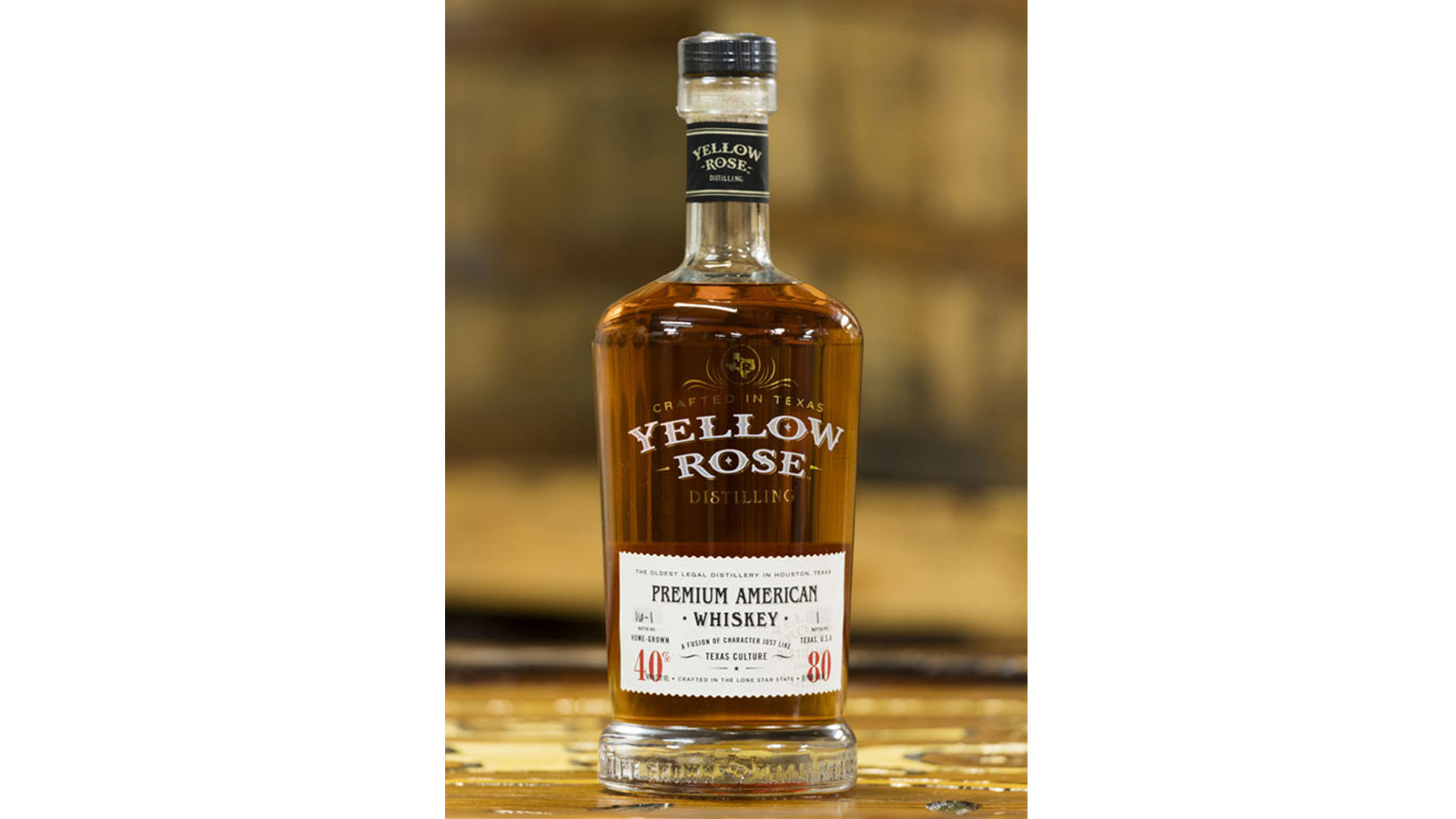 Best Non-Kentucky Bourbon: Yellow Rose Outlaw Bourbon