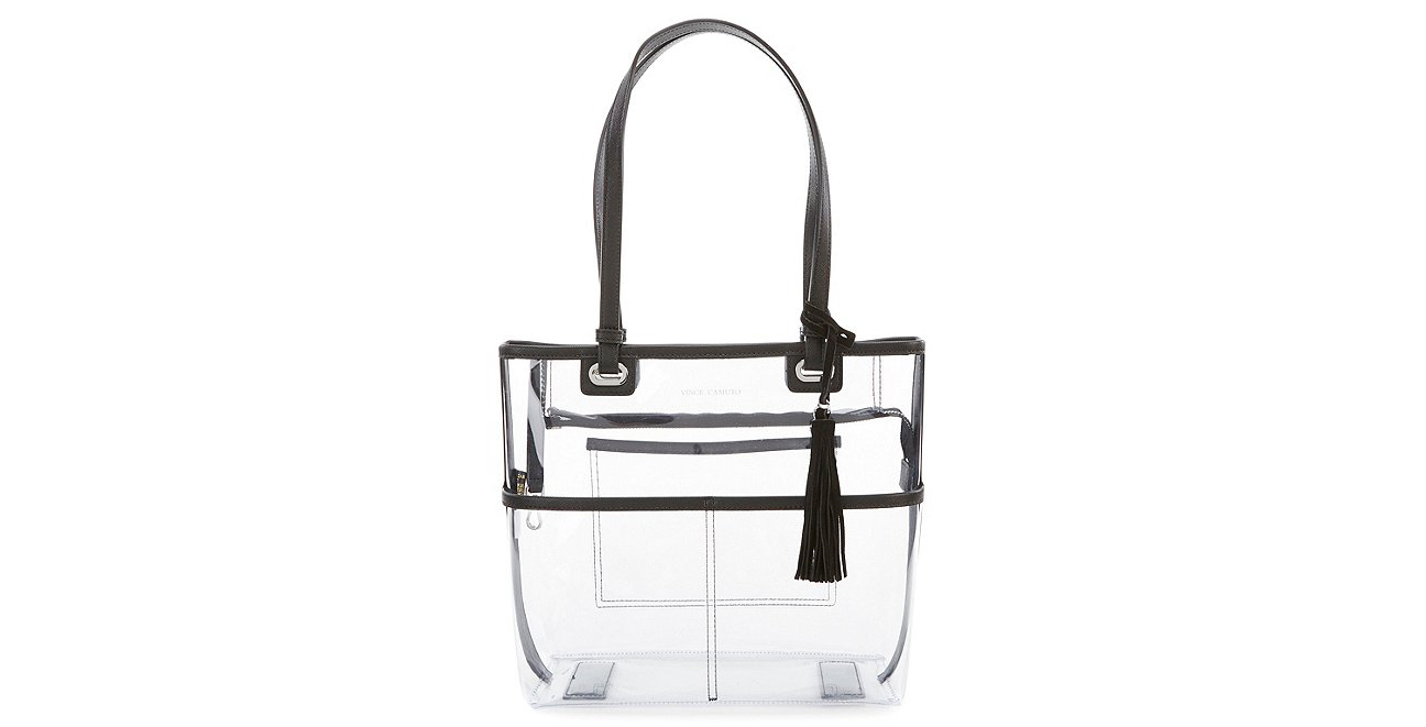 Vince Camuto Aryna Clear Colorblock Tote