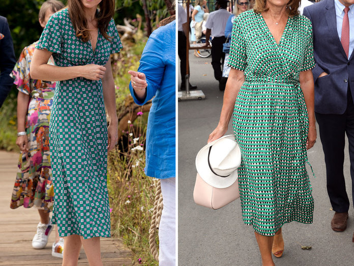 10 Outfits That Prove Kate Middleton's Style Icon Is Actually Her Mom 071019-kate-carol-middleton-style-embed-1