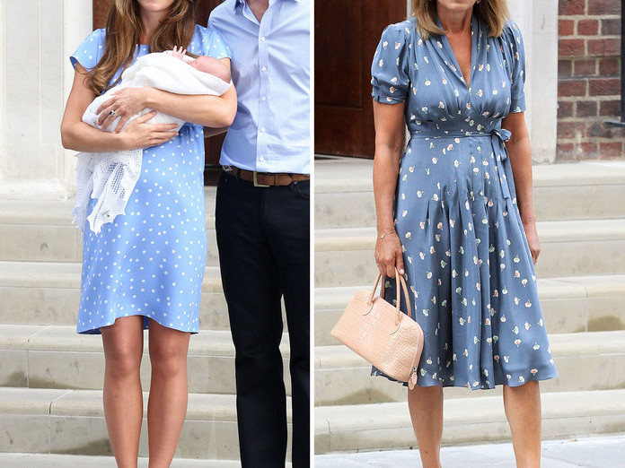 10 Outfits That Prove Kate Middleton's Style Icon Is Actually Her Mom 071019-kate-carol-middleton-style-embed-10