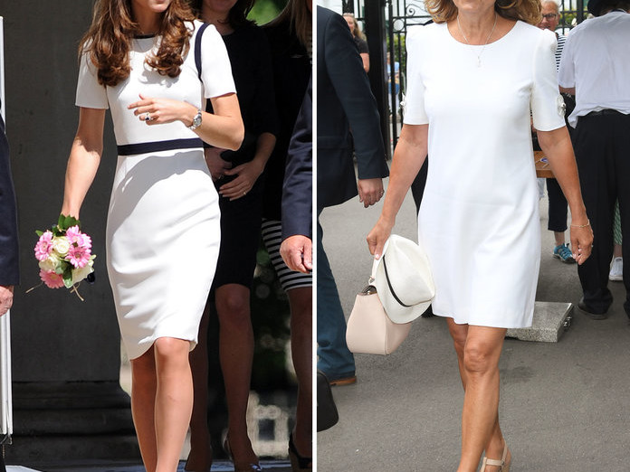 10 Outfits That Prove Kate Middleton's Style Icon Is Actually Her Mom 071019-kate-carol-middleton-style-embed-2