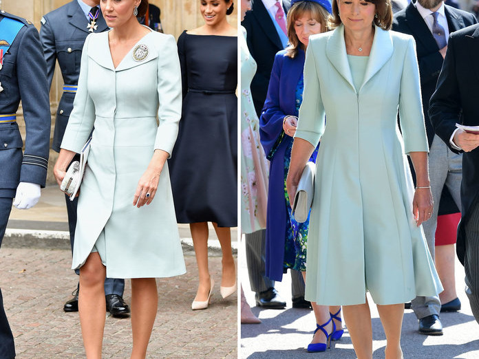 10 Outfits That Prove Kate Middleton's Style Icon Is Actually Her Mom 071019-kate-carol-middleton-style-embed-4