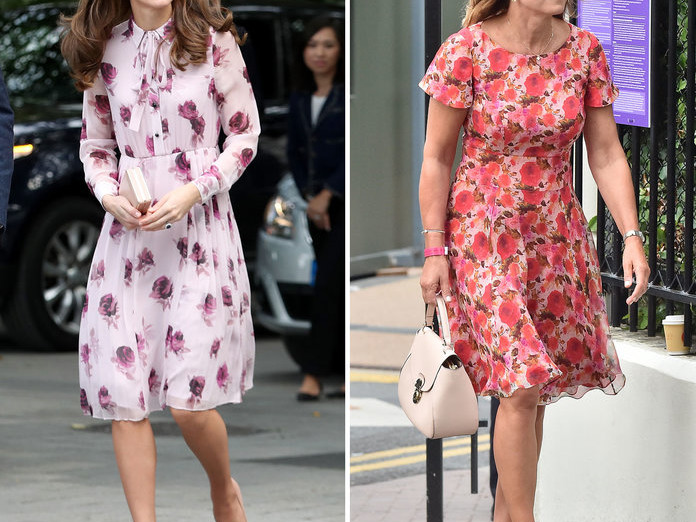 10 Outfits That Prove Kate Middleton's Style Icon Is Actually Her Mom 071019-kate-carol-middleton-style-embed-5