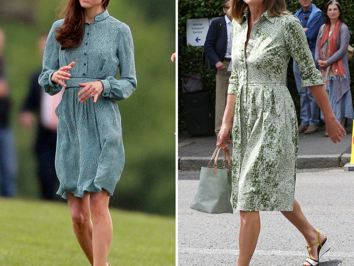 10 Outfits That Prove Kate Middleton's Style Icon Is Actually Her Mom 071019-kate-carol-middleton-style-embed-7