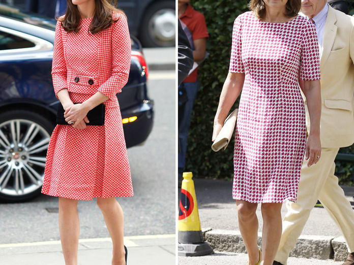 10 Outfits That Prove Kate Middleton's Style Icon Is Actually Her Mom 071019-kate-carol-middleton-style-embed-9