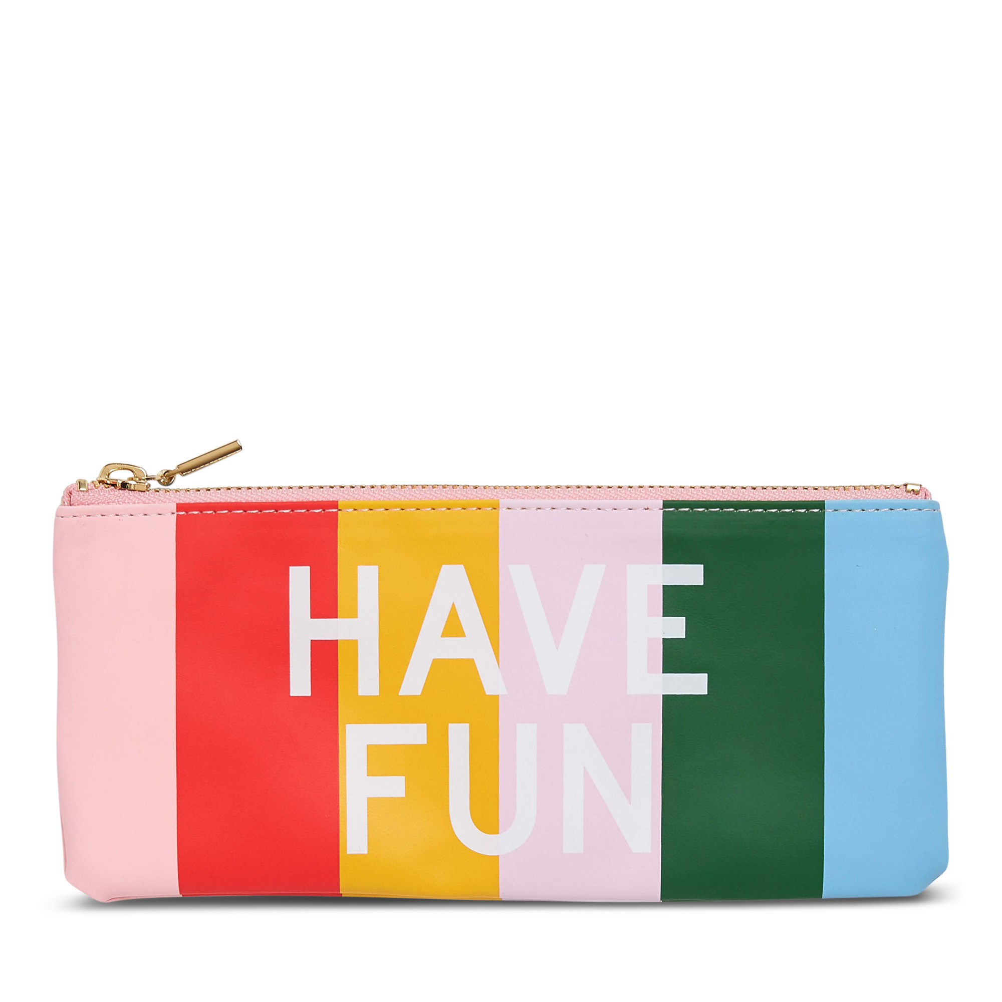 Bloomingdale's ban.do Work Hard, Have Fun Pouch, $14
