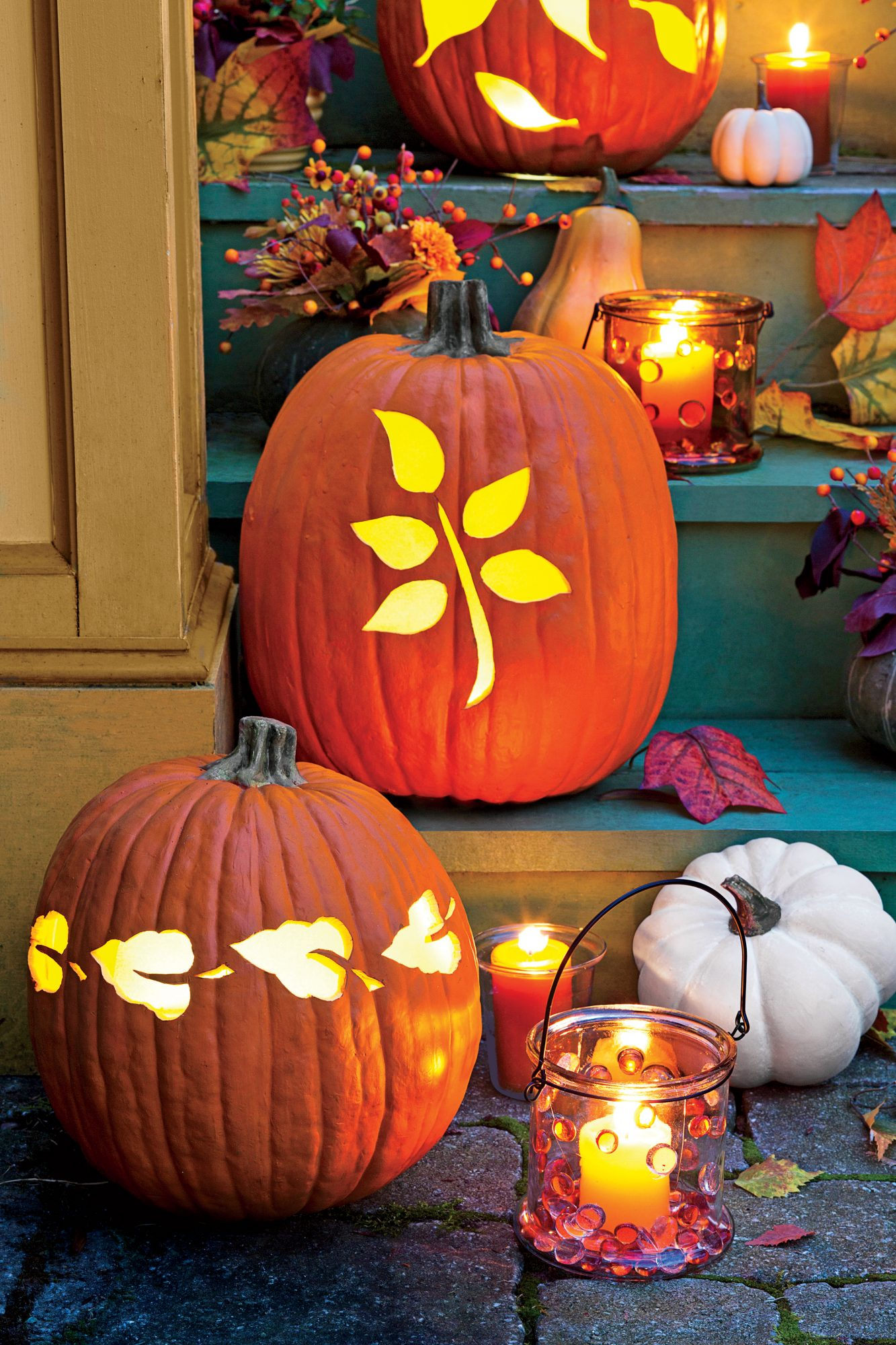 Carve Fall-Inspired Pumpkins