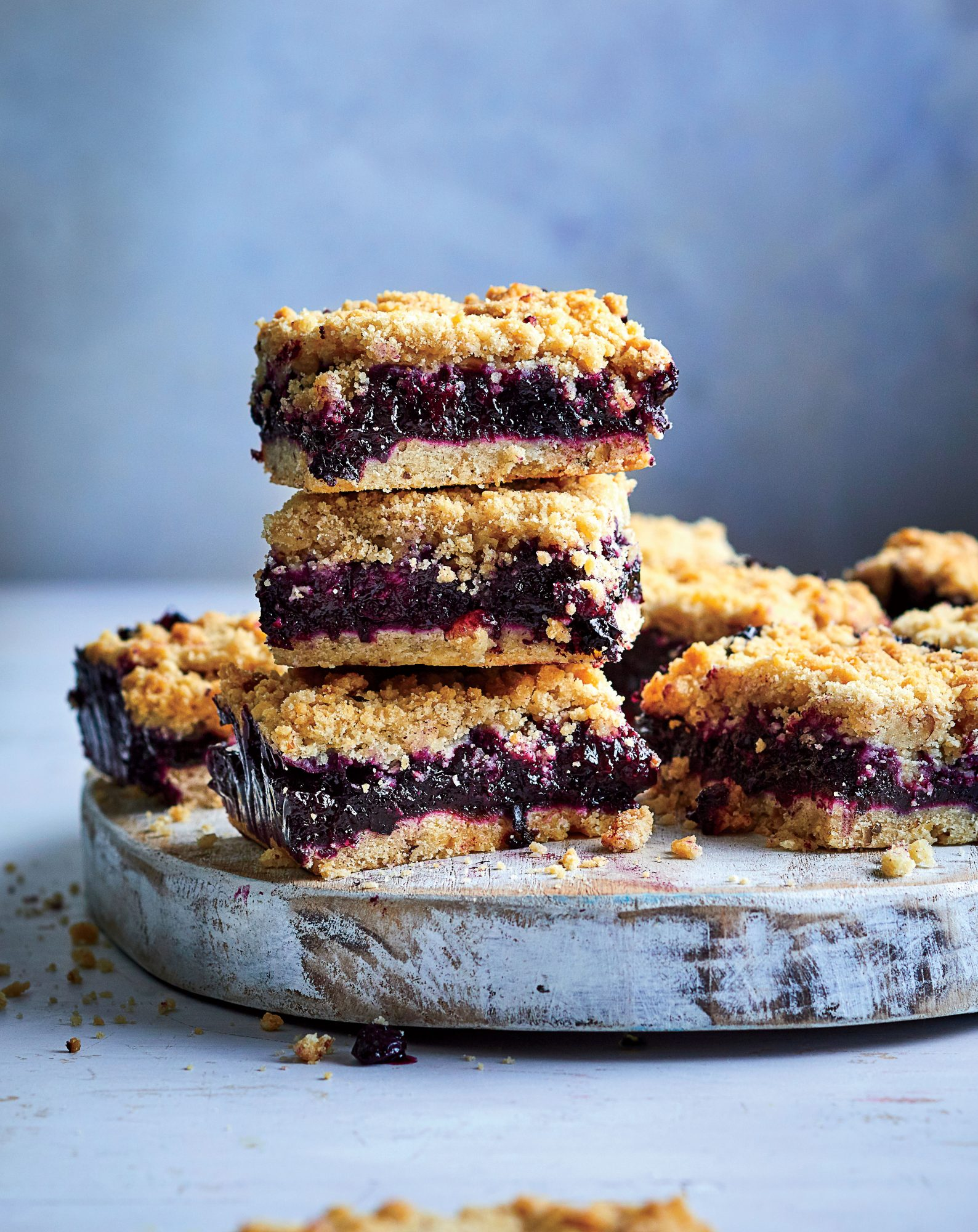 Blueberry-Lemon Crunch Bars