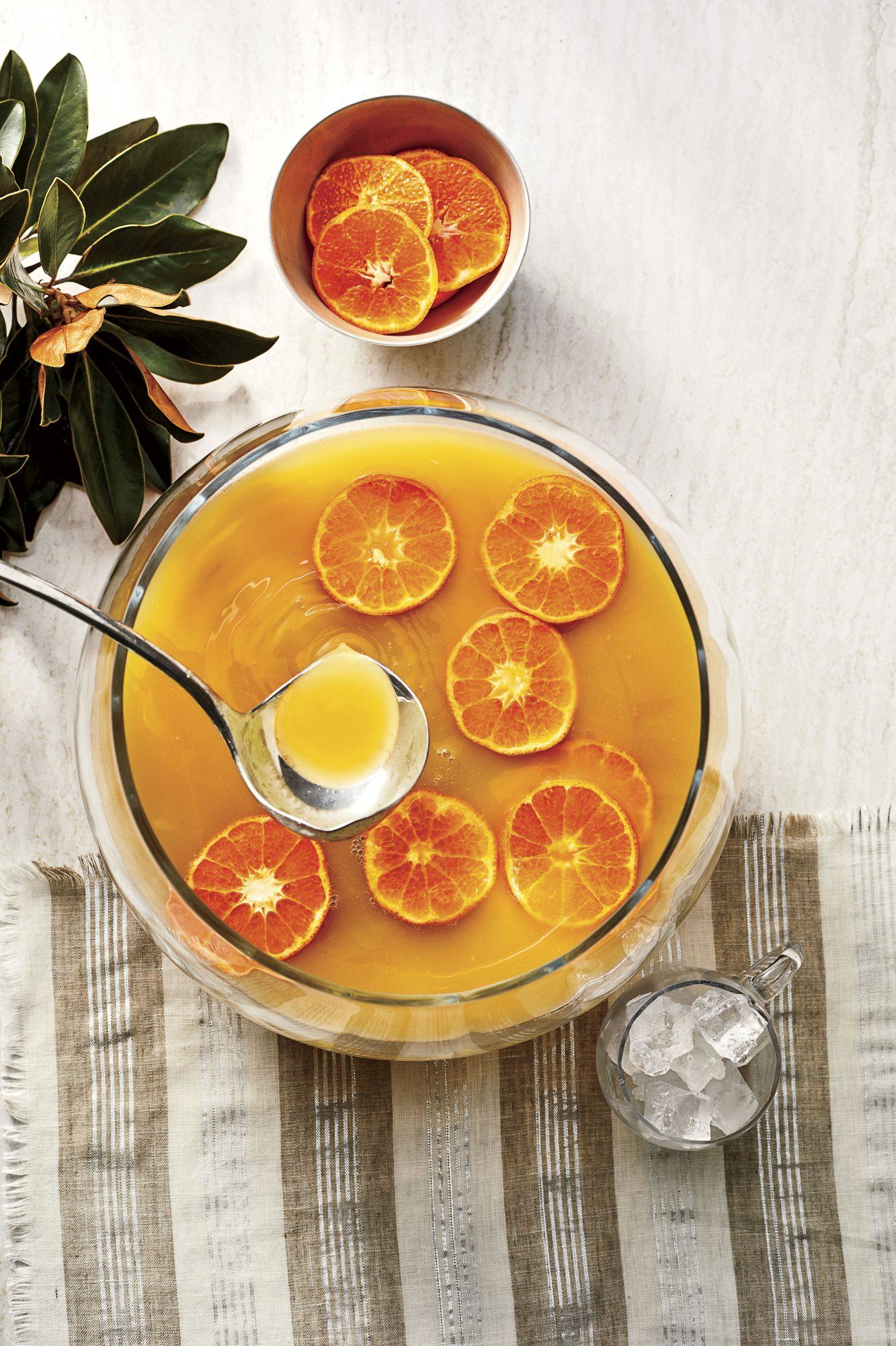 Spicy Bourbon-Citrus Punch