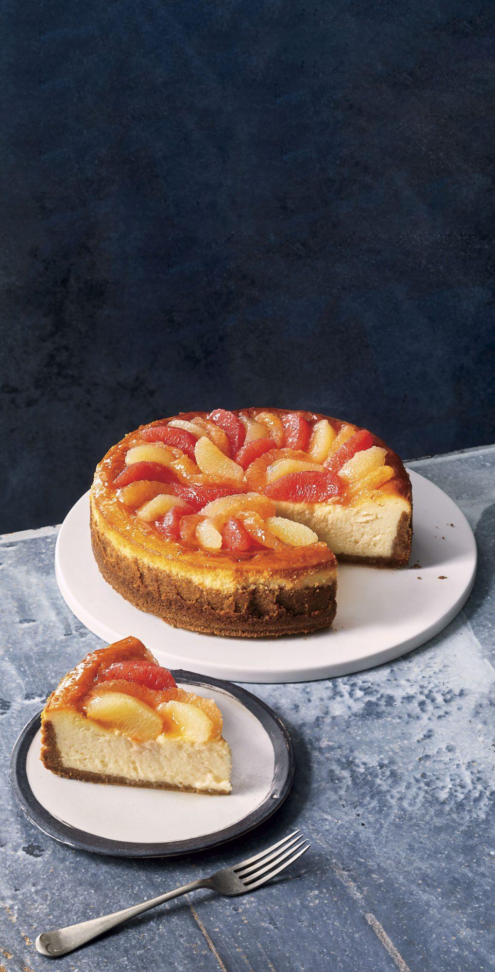 Grapefruit Cheesecake