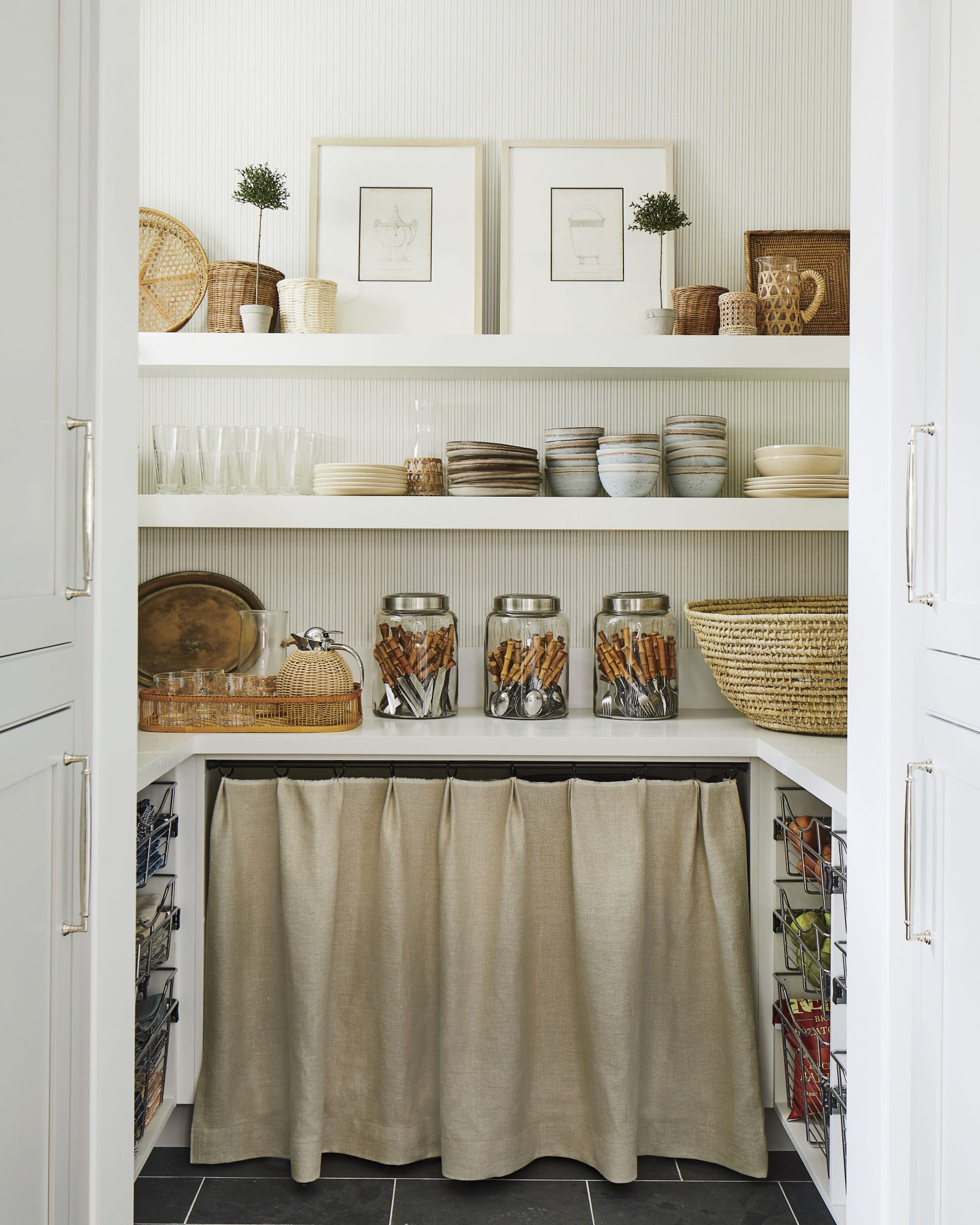 2019 Idea House Kitchen Pantry