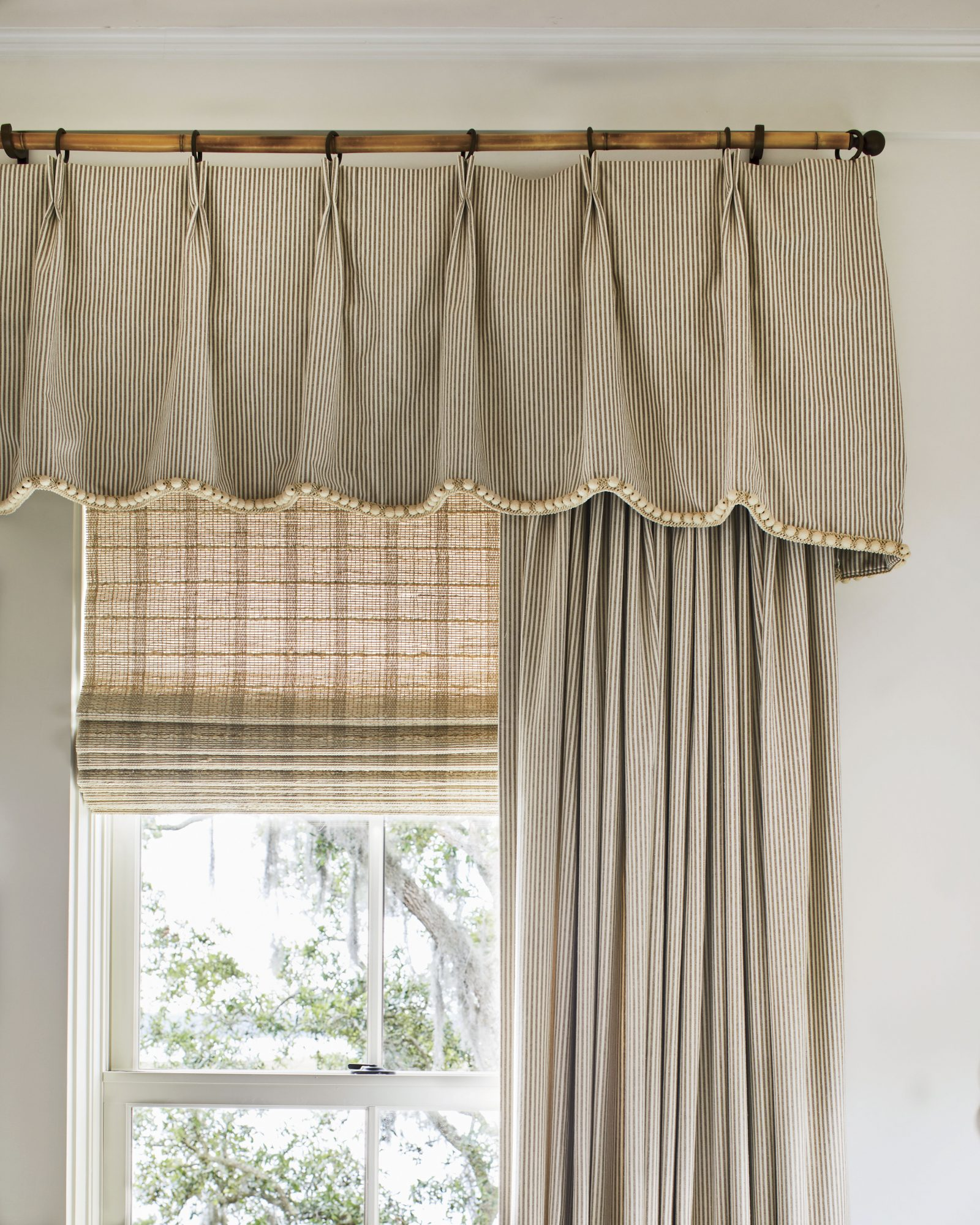 2019 Idea House Twin Bedroom Window Treatments