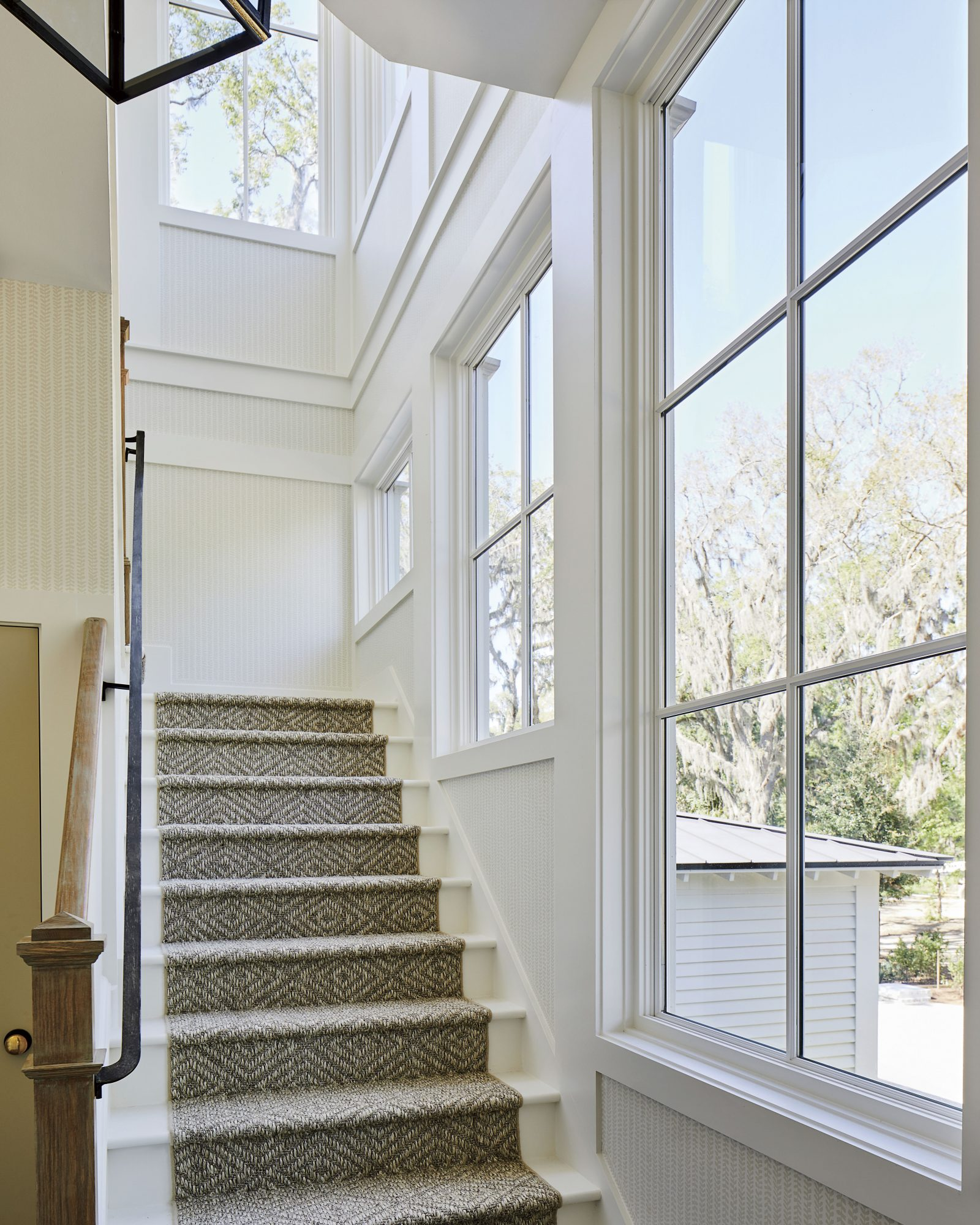 2019 Idea House Stair Windows