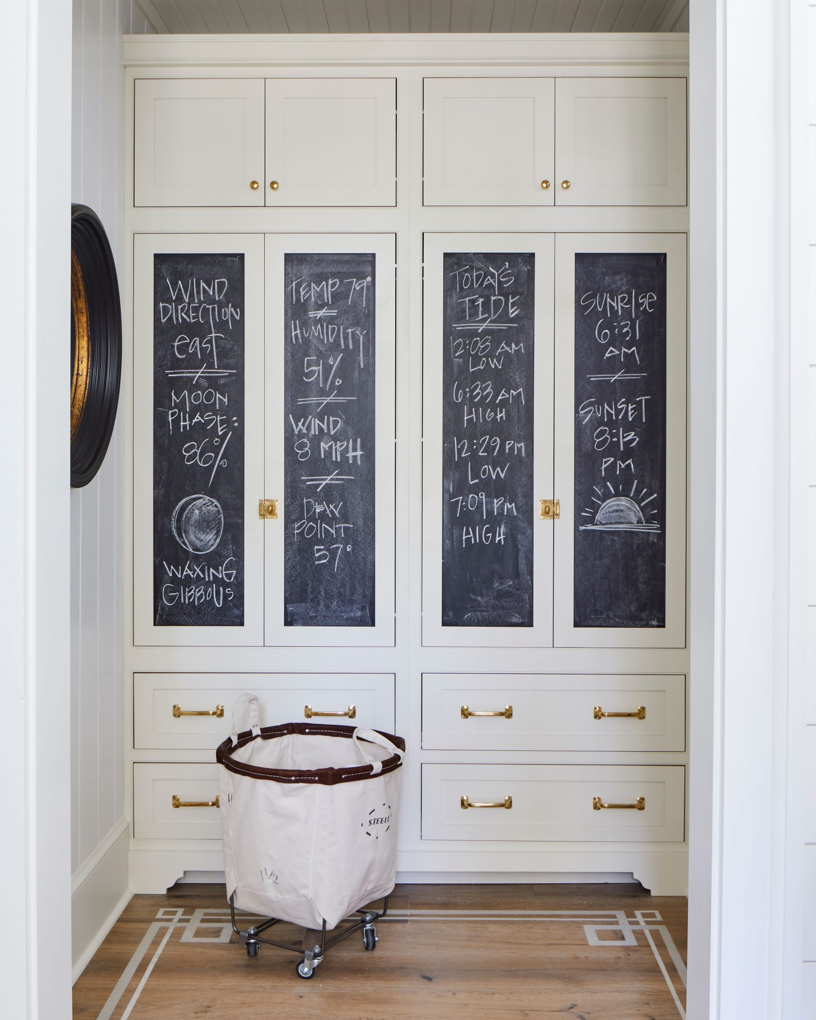 2019 Idea House Laundry Room Vestibule and Mudroom