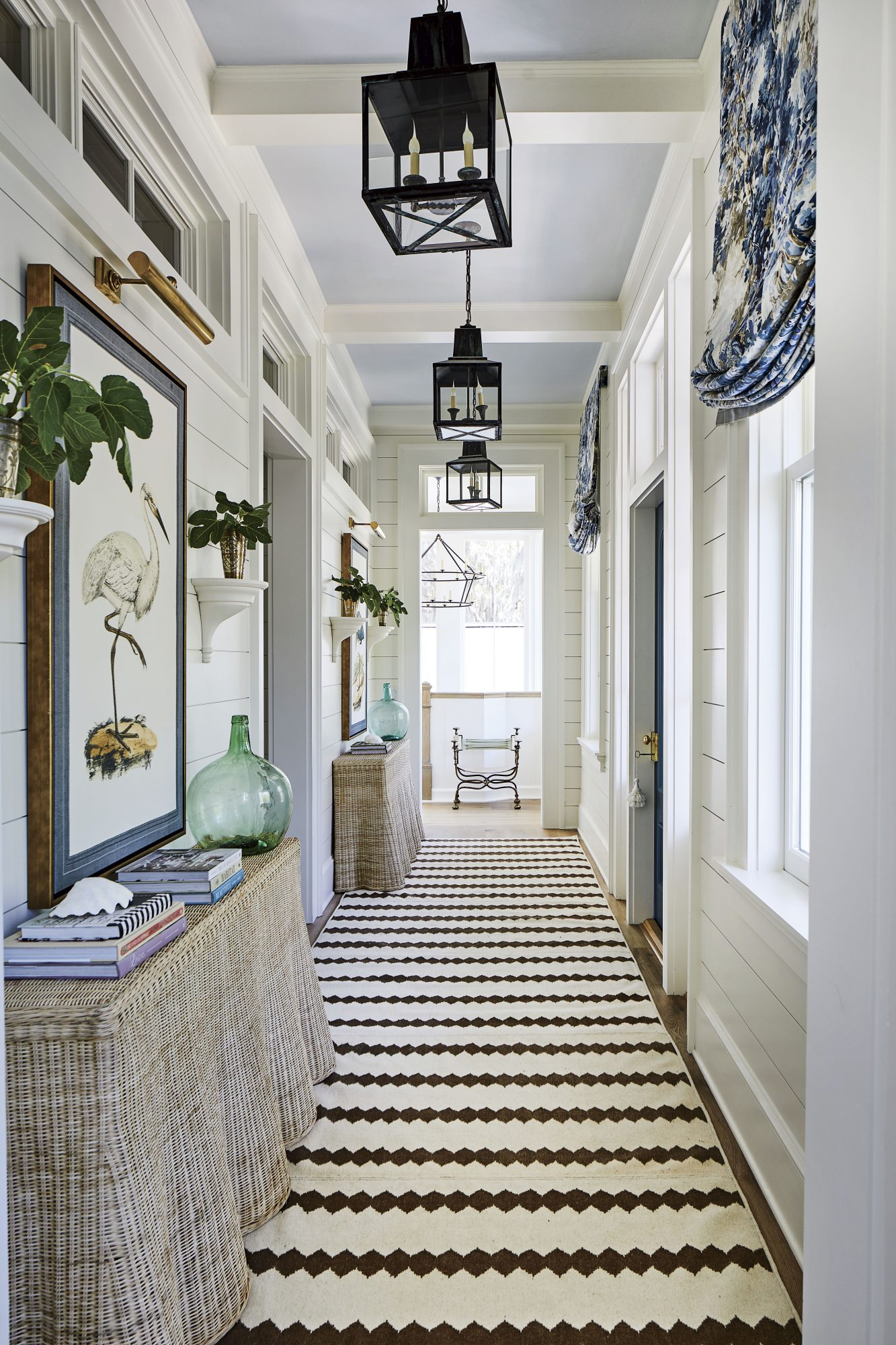 2019 Idea House Resource Guide Upper Hallway and Upper Front Porch