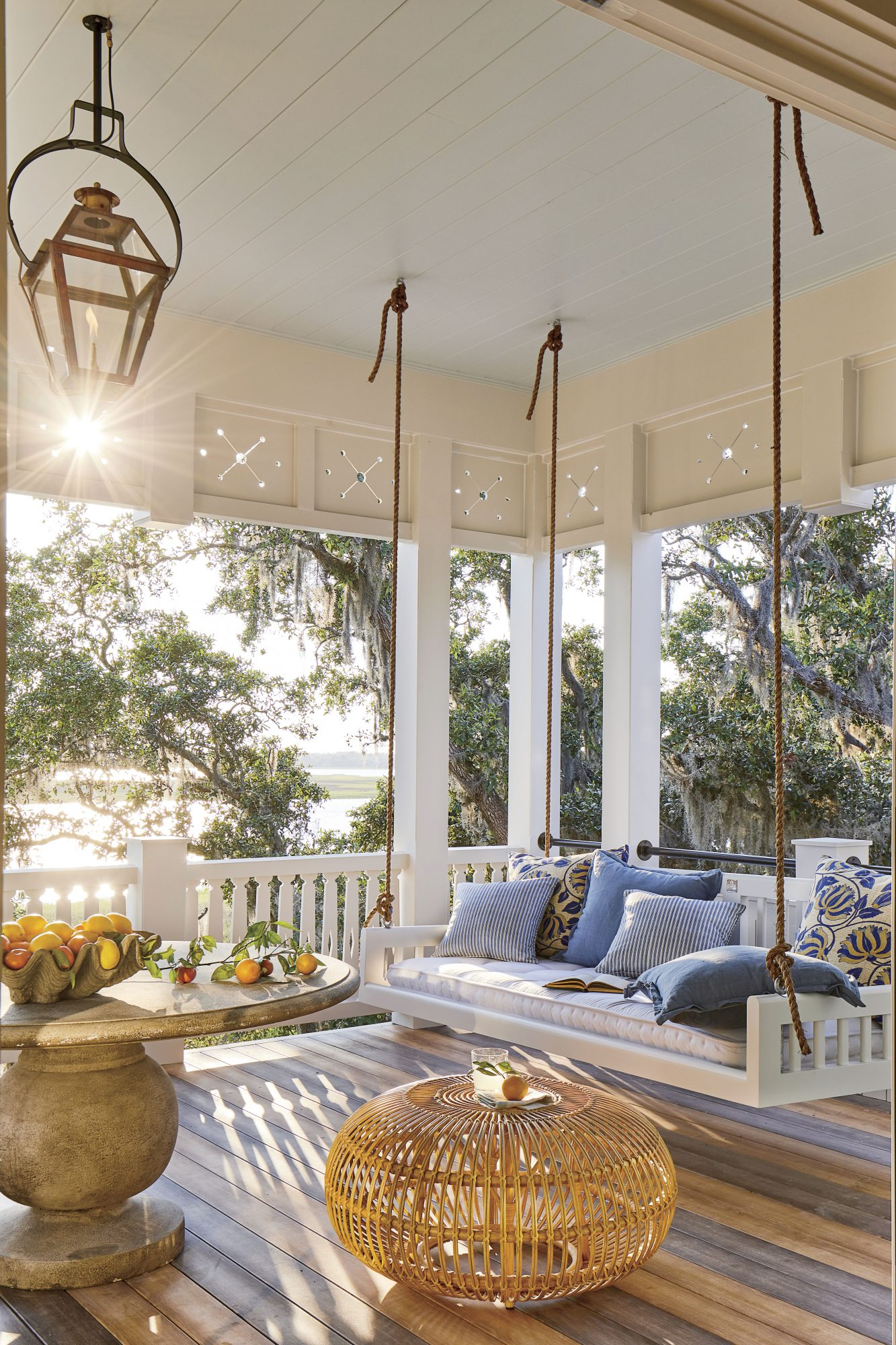 2019 Idea House Resource Guide Swing Porch