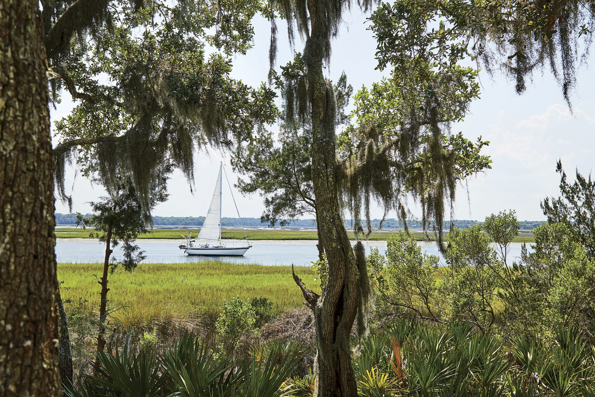 2019 Idea House in Crane Island, FL Water View with Sail Boat