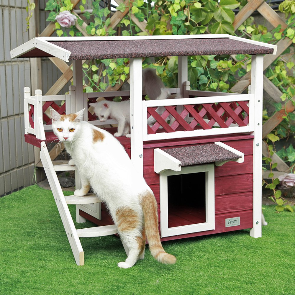 Two-Story Cat House
