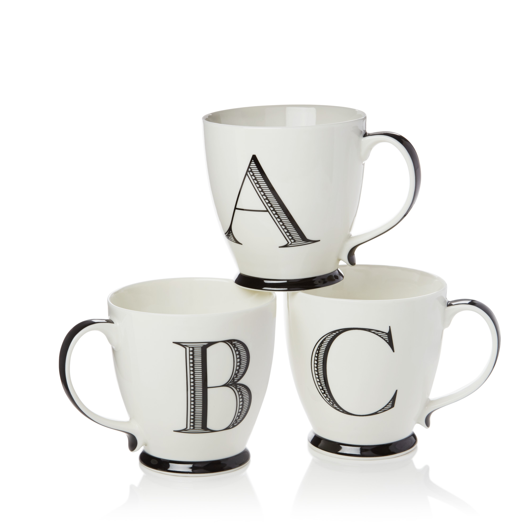Sparrow & Wren Monogrammed Mug at Bloomingdale's, $8