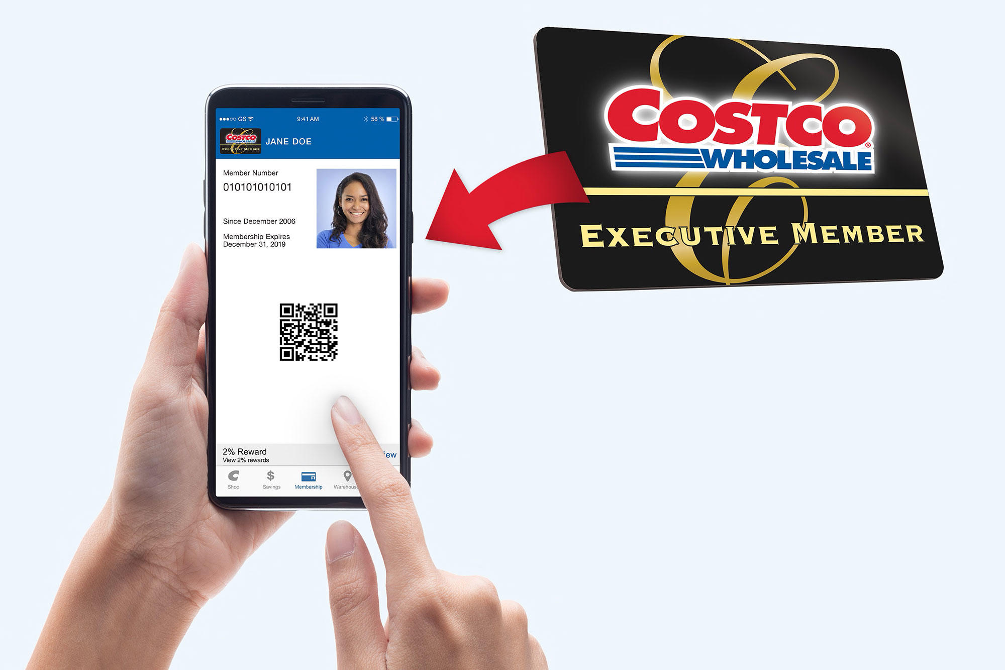 This New Costco Membership Feature Is Life-Changing Costco-Digital-Membership-Card