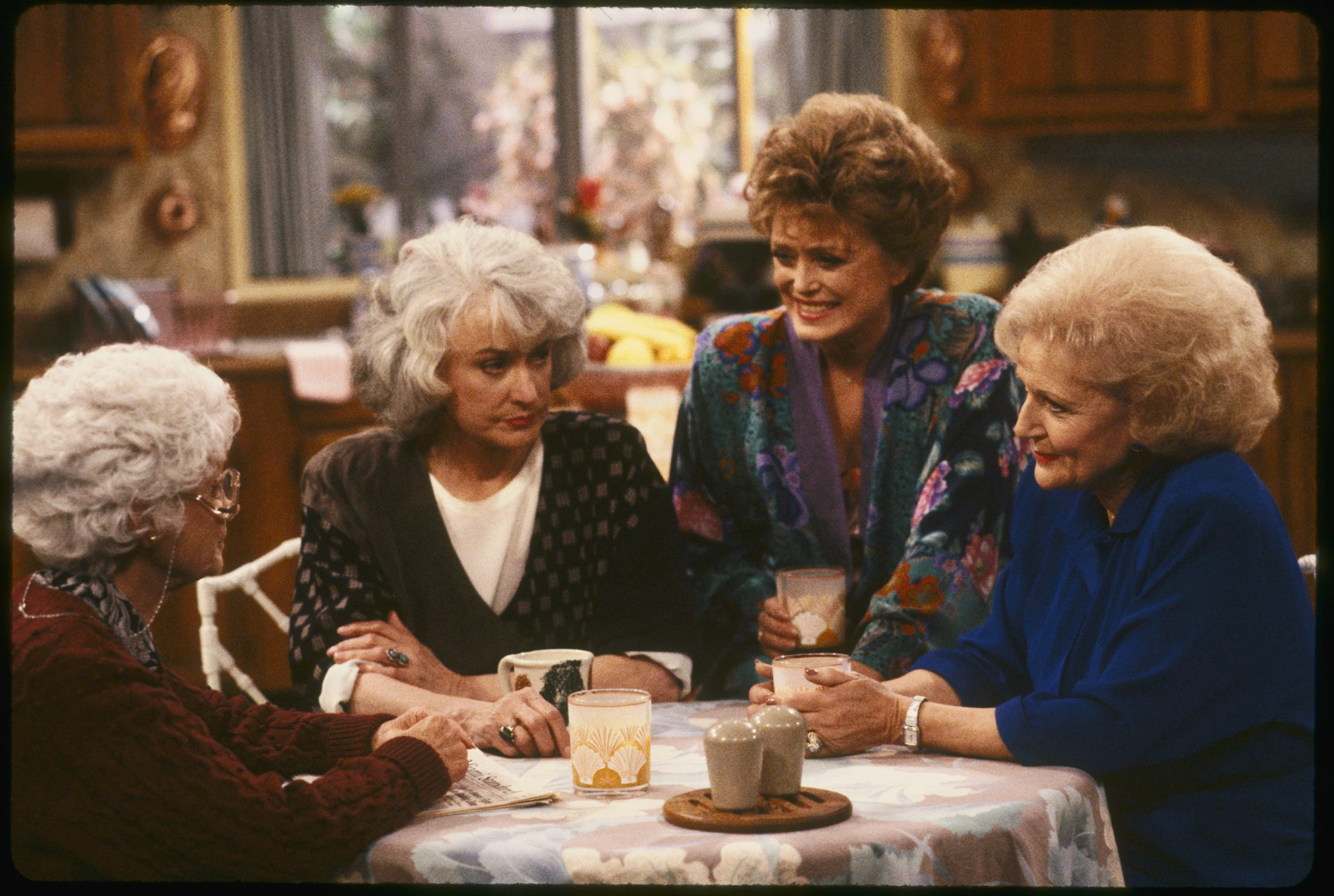 Golden Girls Cast on Set