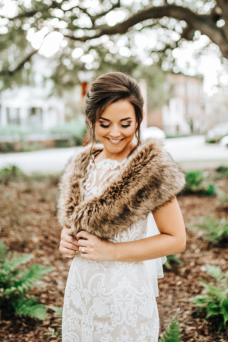 Wintery Bridal Accessories