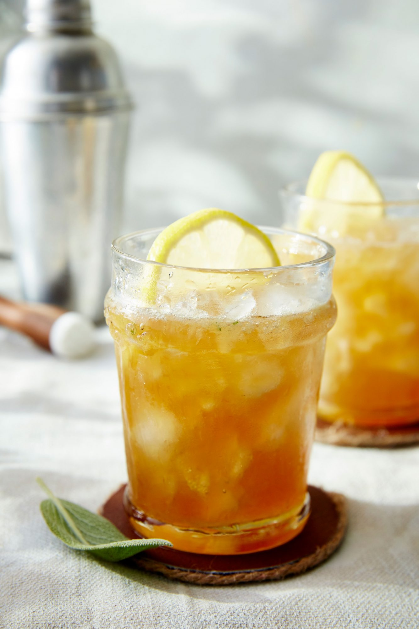 Maple Bourbon Smash
