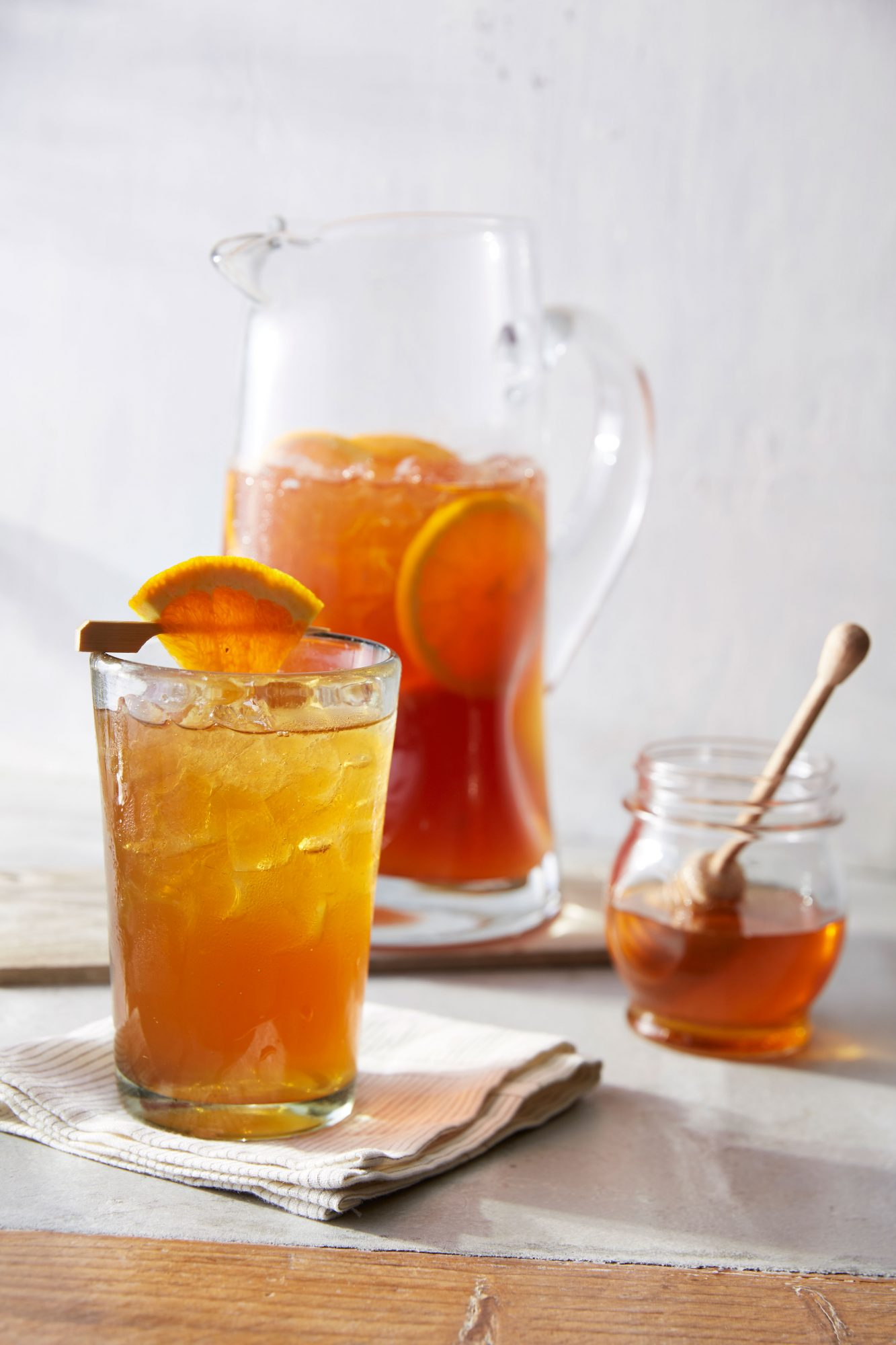 Spiced Tea Bourbon Refresher