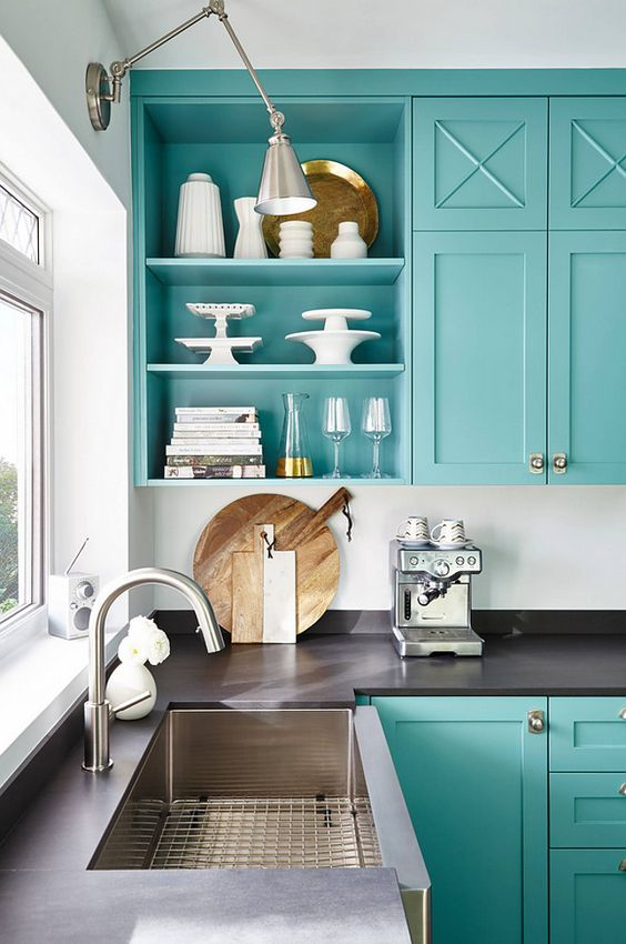 Colorful Cabinets