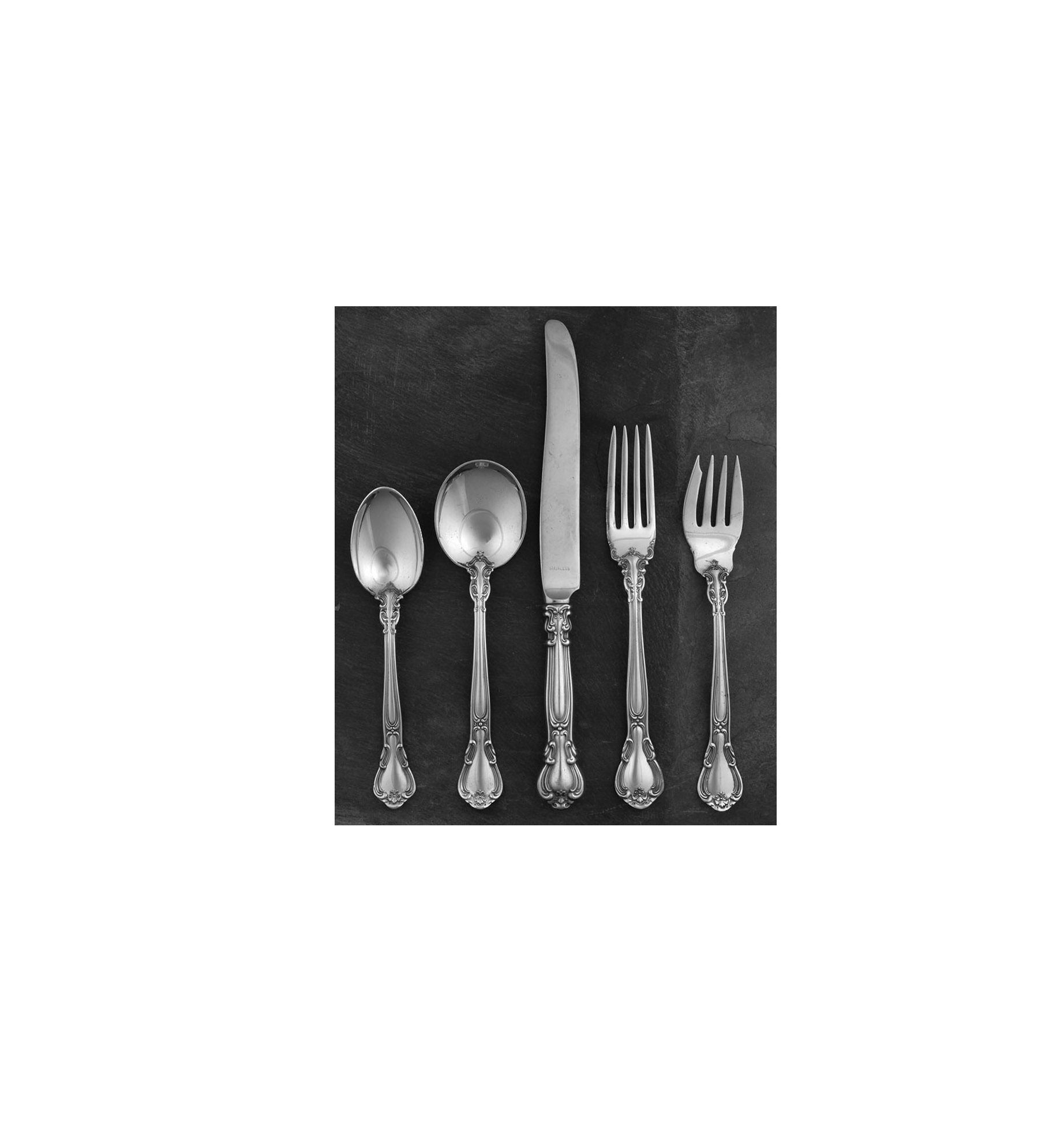 Gorham Chantilly Sterling 5-Piece Place Setting
