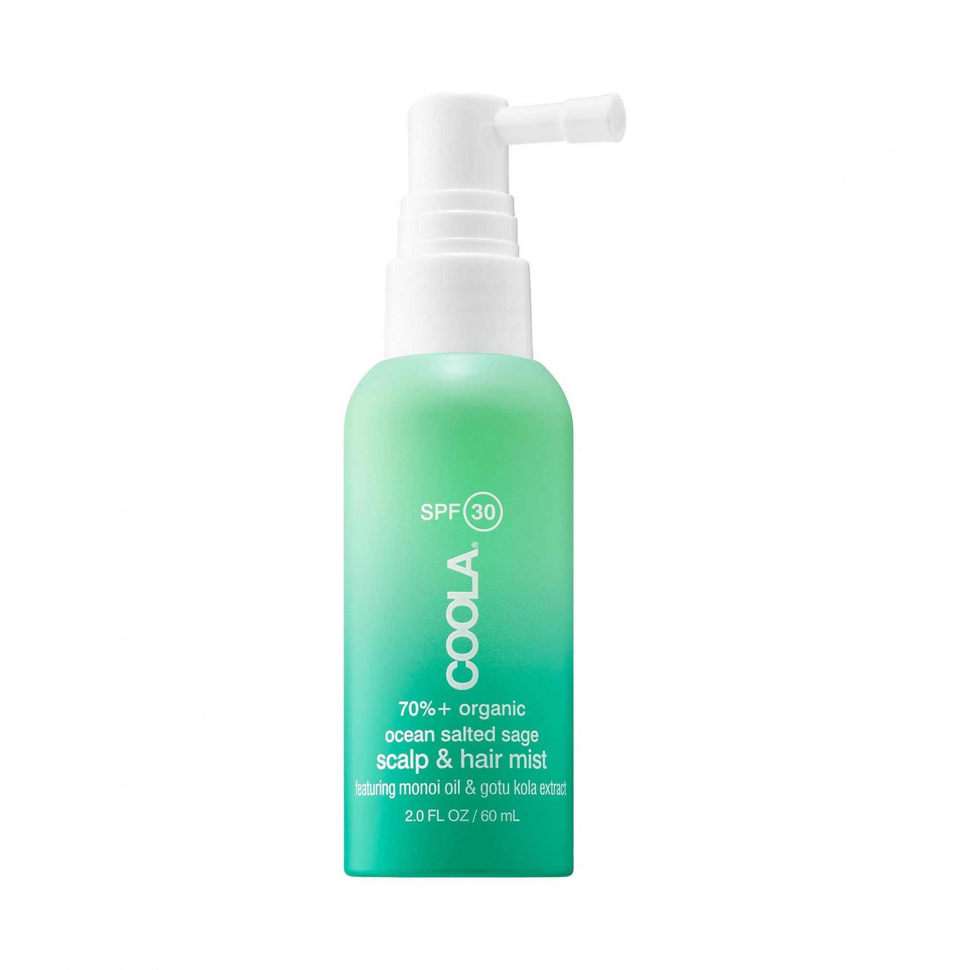Sun Protection: COOLA Organic Scalp & Hair Mist SPF 30