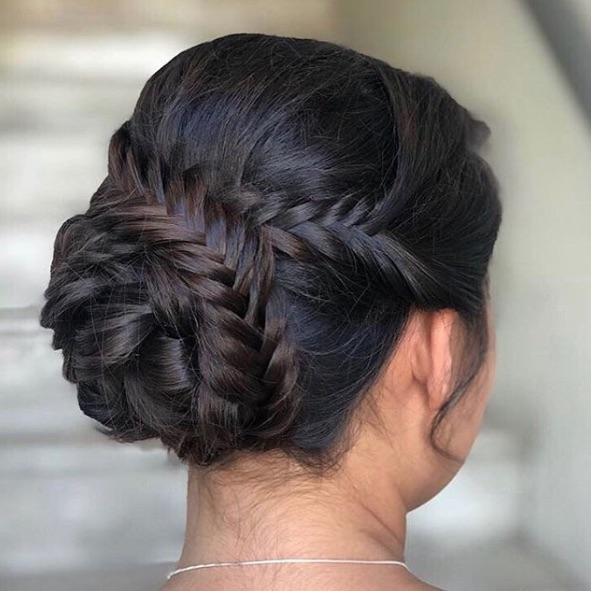 Double-Braided Bun