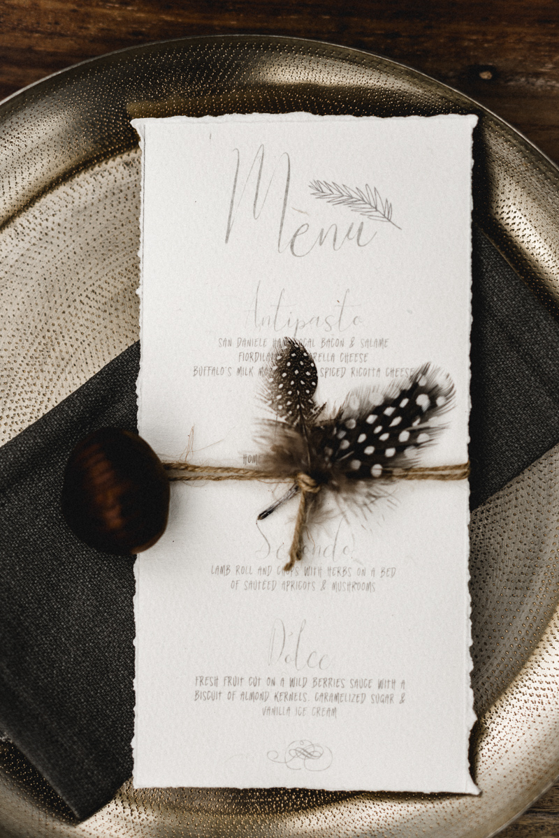 Feather Wedding Decor