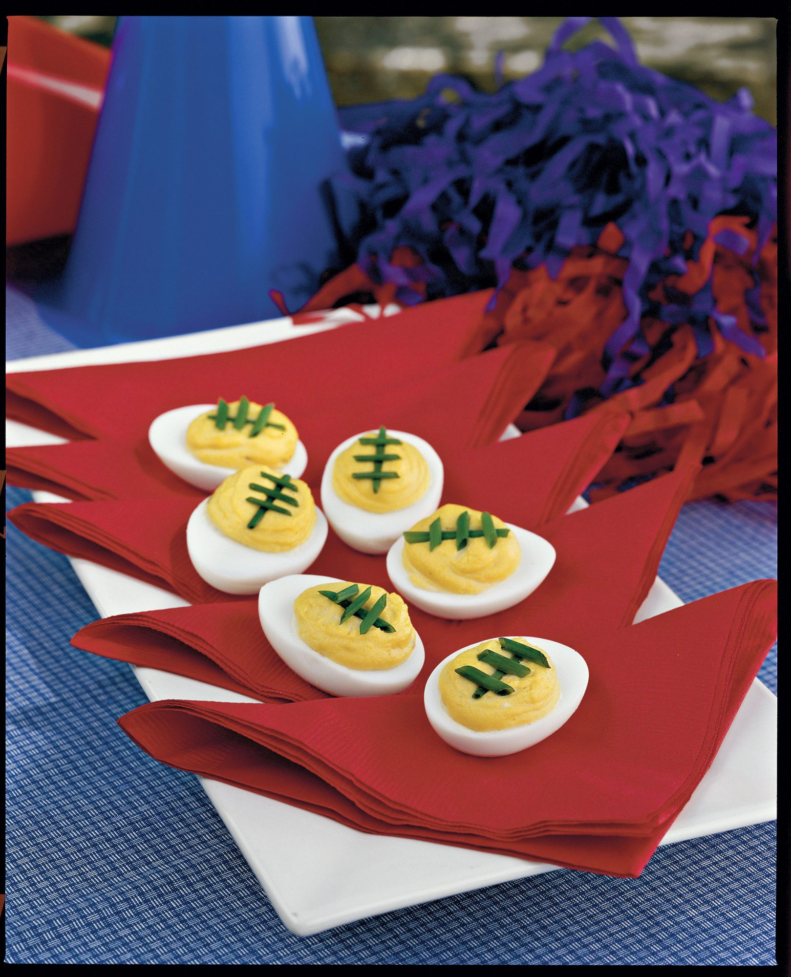 Spicy-Sweet Deviled Eggs