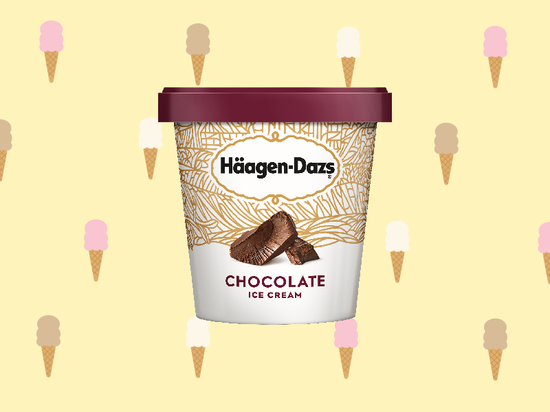 We Tried 13 Brands of Chocolate Ice Cream to Find the Best One haagen-dazs%20chocolate