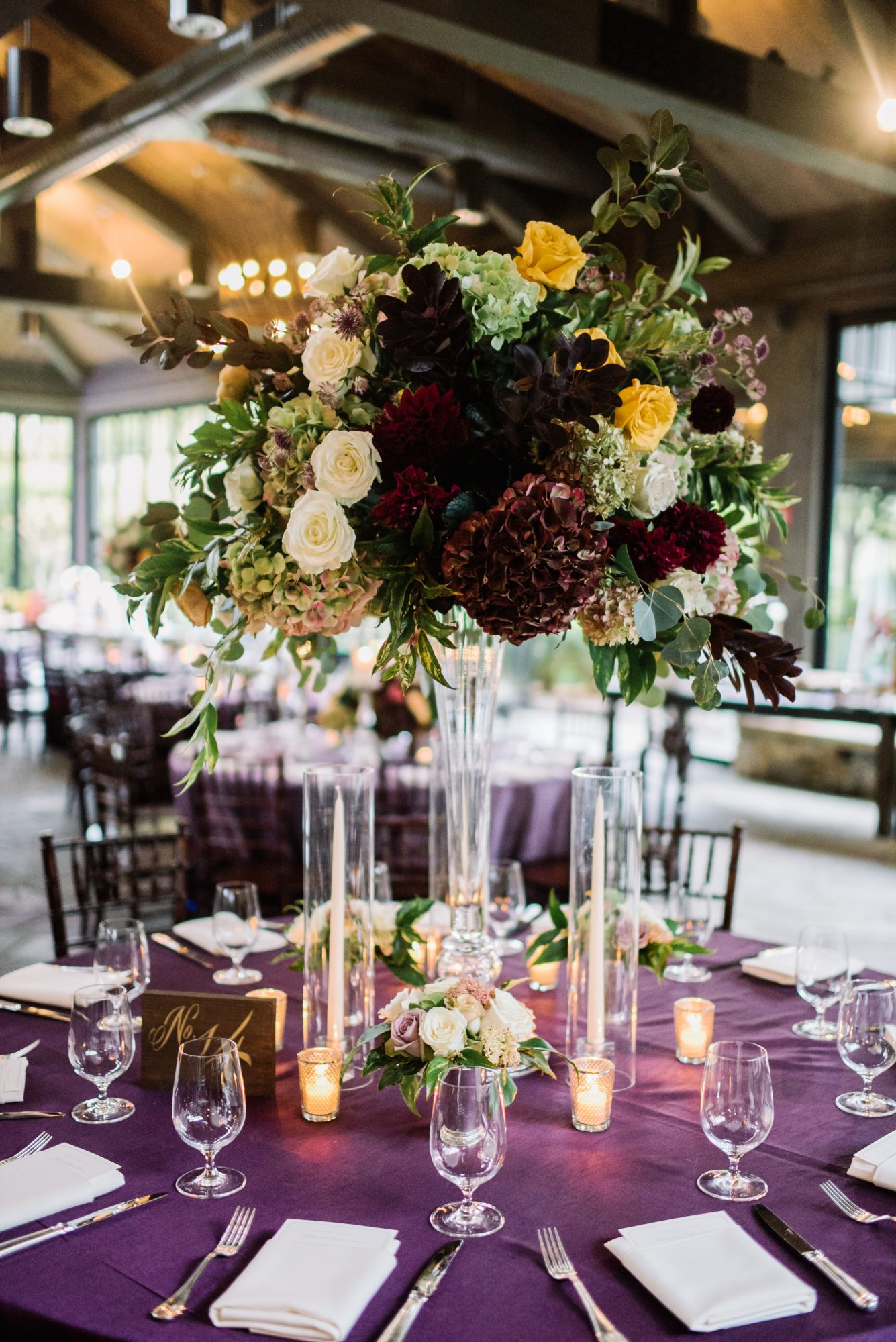 Gem Toned Tablescape