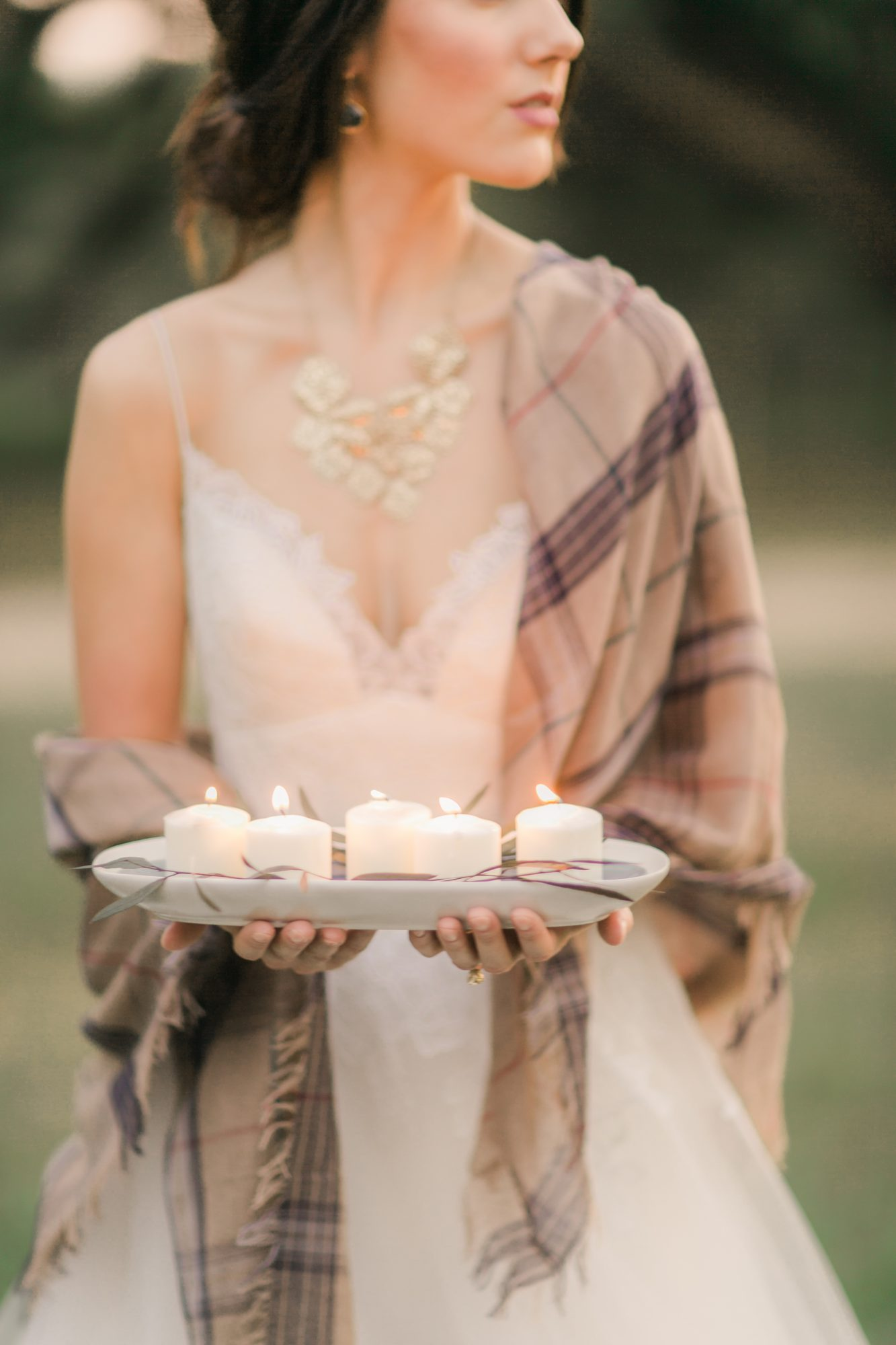 Fall Wedding Scarf
