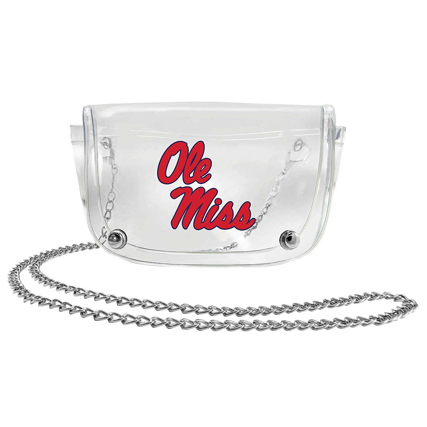 Ole Miss Clear Waist Pack and Crossbody Purse