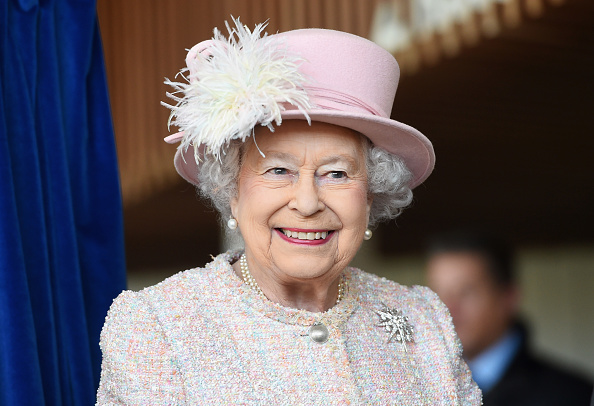 CHICHESTER, ENGLAND - NOVEMBER 30: Queen Elizabeth II is seen at the Chichester Theatre while visiting West Sussex on November 30, 2017 in Chichester, United Kingdom. (Photo by Stuart C. Wilson/Getty Images)