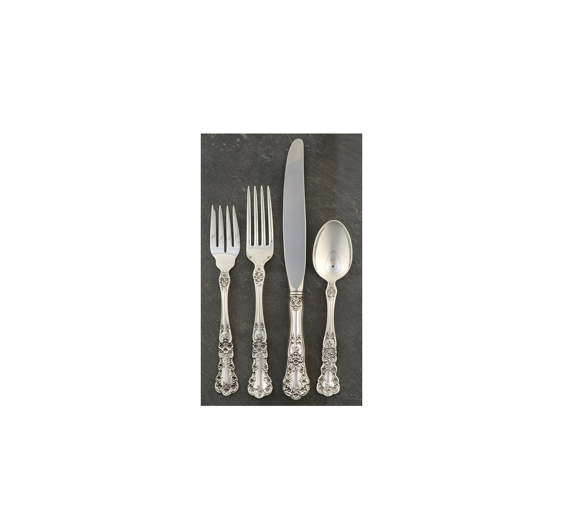 Gorham Buttercup Sterling 4-Piece Place Setting